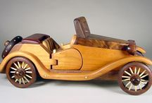 wooden cars scale models