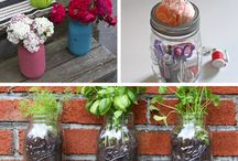 DIY Mason Jar Crafts  / With a little elbow grease and creativity, vintage canning jars have three brand-new uses! http://wayfair.ly/12nqrNq / by Wayfair.com