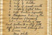 YUMMY HANDWRITTEN RECIPES