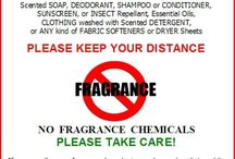 No Fragrance Signs