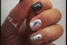 My nails / Love nail polish :)