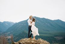Mountain top couples session inspiration / Inspiration for pikes peak couples session