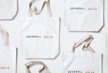 Tote bags / Tote bags design is a part of a new brand identity.