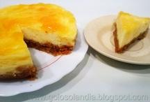 Tarta de queso en 5 minutos / Las mejores recetas de tartas y postres caseros en : http://www.golosolandia.blogspot.com