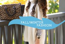 Fall & Winter Fashion / Fashion for the Fall and Winter