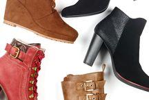 Souliers et bottes - automne 2015 / hiver 2016 / Protégez vos pieds du froid! Que ce soit à l'aide d'une botte courte, haute, compensée ou d'un soulier...