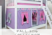 2016 Fall Collection / 2016 Fall Collection - new colors, styles, storage & bed configurations for your child's room! Free Shipping on orders over $100!