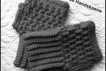 Handskoene Hekel en Brei