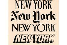 Typographies.