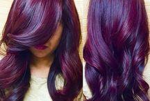 Cheveux de couleurs