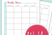 Planners & Printables / by Andrea