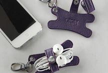 Earphone/cord holders