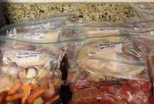 Dinner Ideas - Freezer Meals!