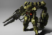01 Mech Suit / Mech Suit Exo for Human or Alien