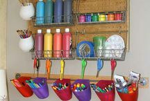 kids craft storage ideas