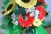 QUILLING fiori e frutti