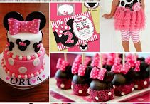 My party theme - Minnie Mouse