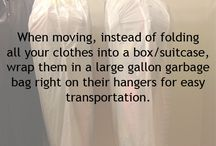 Moving Tips / We all have to do this at some point in time. Some of these ideas will make it easier on you and your family!