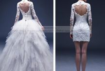 Wedding Dresses - 2 in 1 / 2 in 1 Wedding Dresses