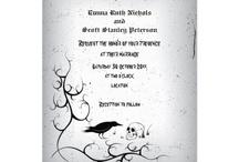 gothic wedding ideas / by Kayla Viall