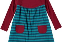 Fall & Winter Girl's Fashion / Deck your daughter out in some of the cutest and trendiest clothes on the market. Rockin' Baby has the best slings, onesies, rompers, dresses, PJs, outerwear, accessories, you name it! Keep your little girl cozy with these Fall & Winter outfits.