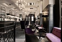 Hospitality / restaurants, dining, bar, seating, banquettes, booths, casual, trendy, cocktails, commercial, cafes, hotels