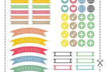 Free printables stickers