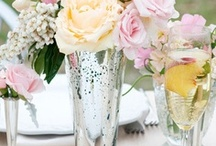 TABLE ARRANGEMENTS & Centerpieces reception / This is a great way to get a good feel for what talks to you for your wedding, We are more than happy to create whatever you may be looking for. We Love To Be Different & Creative. Elegant Designs By Joy.