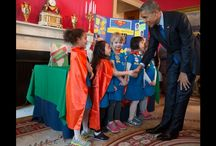 OUR PRESIDENT LOVES CHILDREN / by La Tretha Stroughter