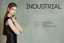 Industrial Fusion / Fashion Editorial: Industrial Fusion, published in The Alchemist Magazine XIV Issue.