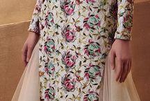 indo-western evening wear