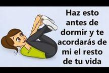 ejercicios antes de dormir
