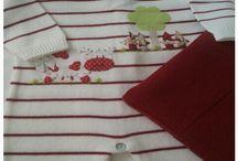 Saída de maternidade em tricot / Conjunto para maternidade