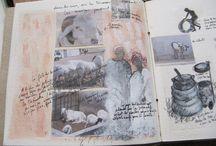 carnets de voyages.. Michèle Riesenmey