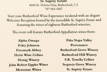 Events and Happenings / Mark your calendar! One of the many pleasures of being a Napa winery is all the wonderful events going on around us, from wine tastings to music festivals and more. We are dedicated to our community and often participate in these happenings...  / by St. Supery Estate Vineyards & Winery