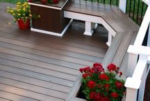 deck and backyard ideas / by Lindsay O'Keefe Olson