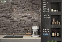 Kitchen design - renderings