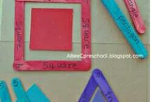 Fractions and Geometry / by Ashley Christina Jones
