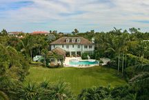 1558 N Ocean Way / Unique North End opportunity! Over sized property within steps of the best beach on the Island. Exceptional Caribbean style home boasts an abundance of privacy as the adjacent vacant lot is included totaling over 29,000+/- sq. ft. of pristine property.