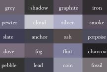 Shade and colour names