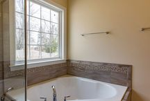 Bathrooms / Beautiful custom bathrooms we've designed