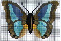 borduren vlinders