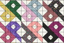 Half Squares for Quilts