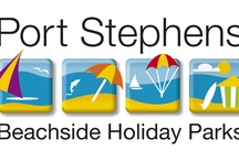 Our Port Stephens Beachside Holiday Parks / Choose from 3 award winning properties all located in the blue water paradise of Port Stephens NSW Australia.