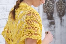 Crocheted Shawls
