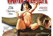 Vampirella / #Franck #Frazetta dessinateur #comics and #illustrateur #vampirella