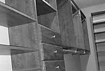 Designing the IDEAL Clothes Closet / Customizing closets for clothing storage
