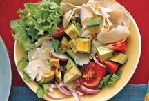 Salads and interesting dishes