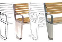 """Coda"" Street furniture"