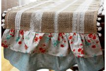 burlap decorations and more